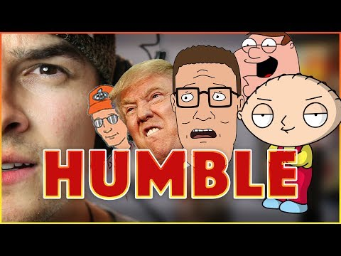 "Kendrick Lamar - ""HUMBLE."" (in CARTOON Voices!) 