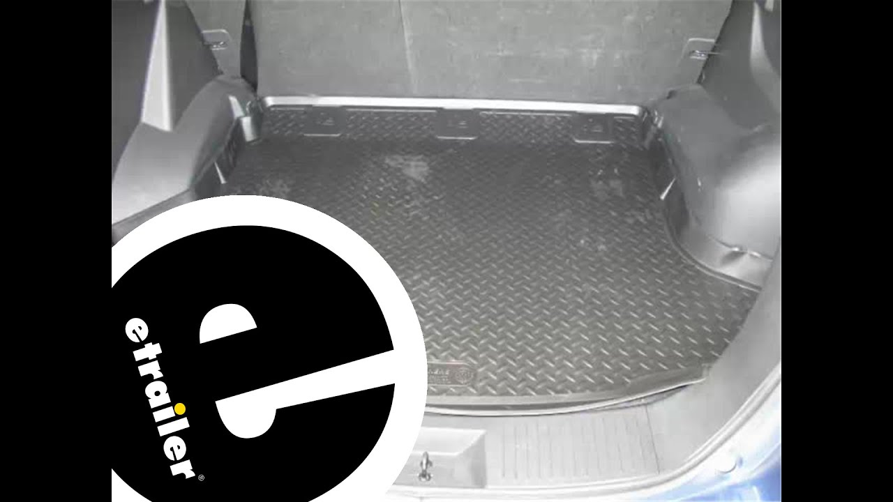 Rubber floor mats nissan rogue - Review Of The Husky Cargo Floor Liner On A 2011 Nissan Rogue Etrailer Com