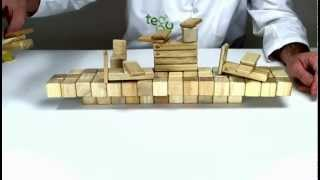 How To Build An Aircraft Carrier Out Of Tegu Stacking Blocks