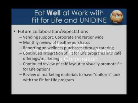 On-Demand Webinar: Dining Programs Support Employee Health and Wellness Programs