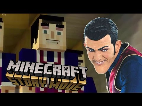 We Are Number One But in Minecraft Story Mode