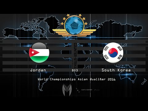 CS:GO - South Korea vs Jordan - BO3 - The World Championships 2016 Asian Qualifier  24-06-2016