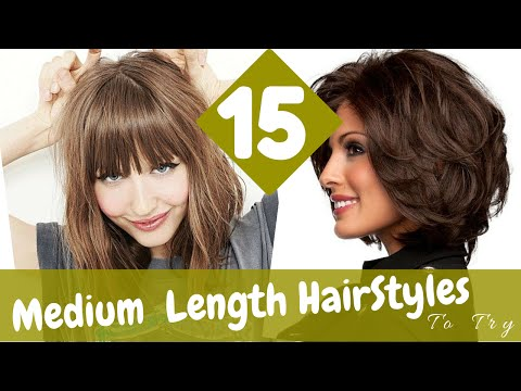 15 Medium Length HairStyles To Try in 2015