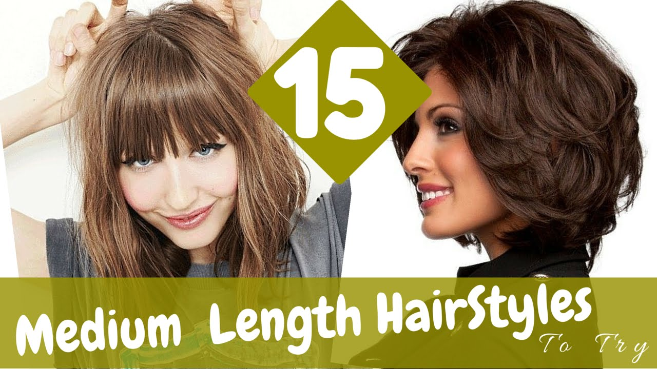 medium length haircuts and styles 15 medium length hairstyles to try in 2015 4274 | maxresdefault