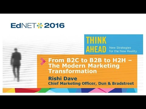 Keynote Address: From B2C to B2B to H2H – The Modern Marketing Transformation