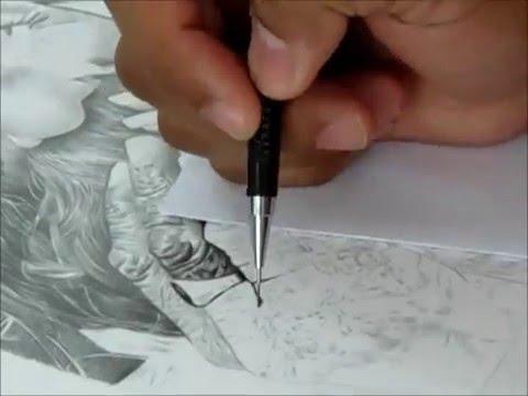 Desenho Textura de Pele