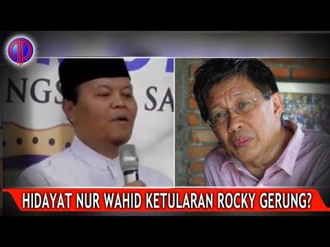 Hidayat Nur Wahid Sudah Ketularan Rocky Gerung?