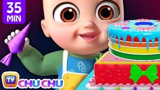 Pat-Ein-Kuchen-Lied + Mehr ChuChu-TV 3D Nursery Rhymes & Kids Songs