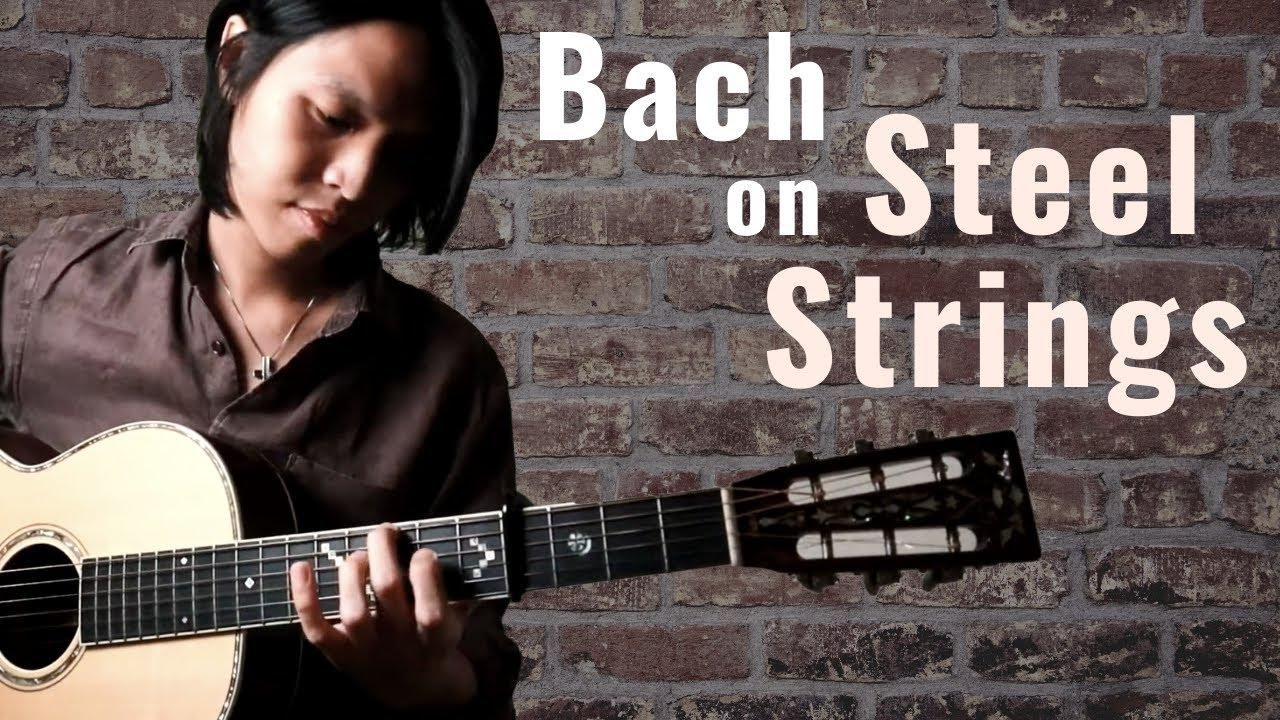Bach - 'Minuet in G' on Steel String Guitar | Neil Chan