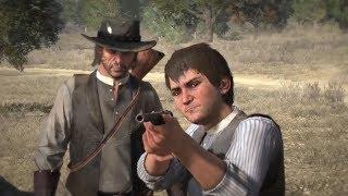 Прохождение Red Dead Redemption - Обучаем сына охотиться