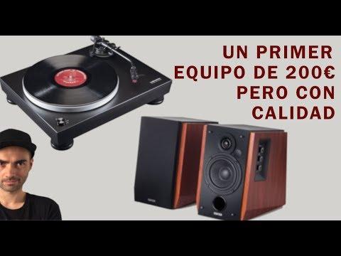 Un equipo de audio con 200€ pero de calidad