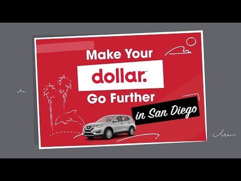 Make Your Dollar Go Further In San Diego | Dollar Car Rental