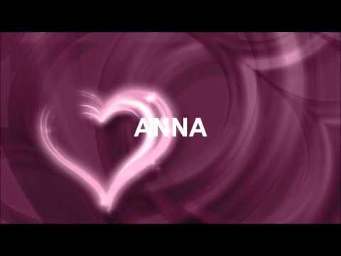 Joyeux Anniversaire Anna Youtube