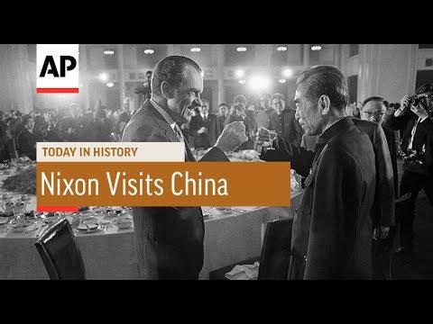 Nixon Visits China - 1972   Today In History   21 Feb 18