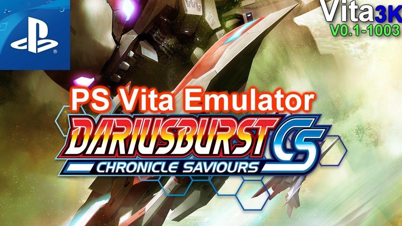 [PSvita Emulator] Vita3K   Darius Burst   Ingame   No Sound   TEST#01