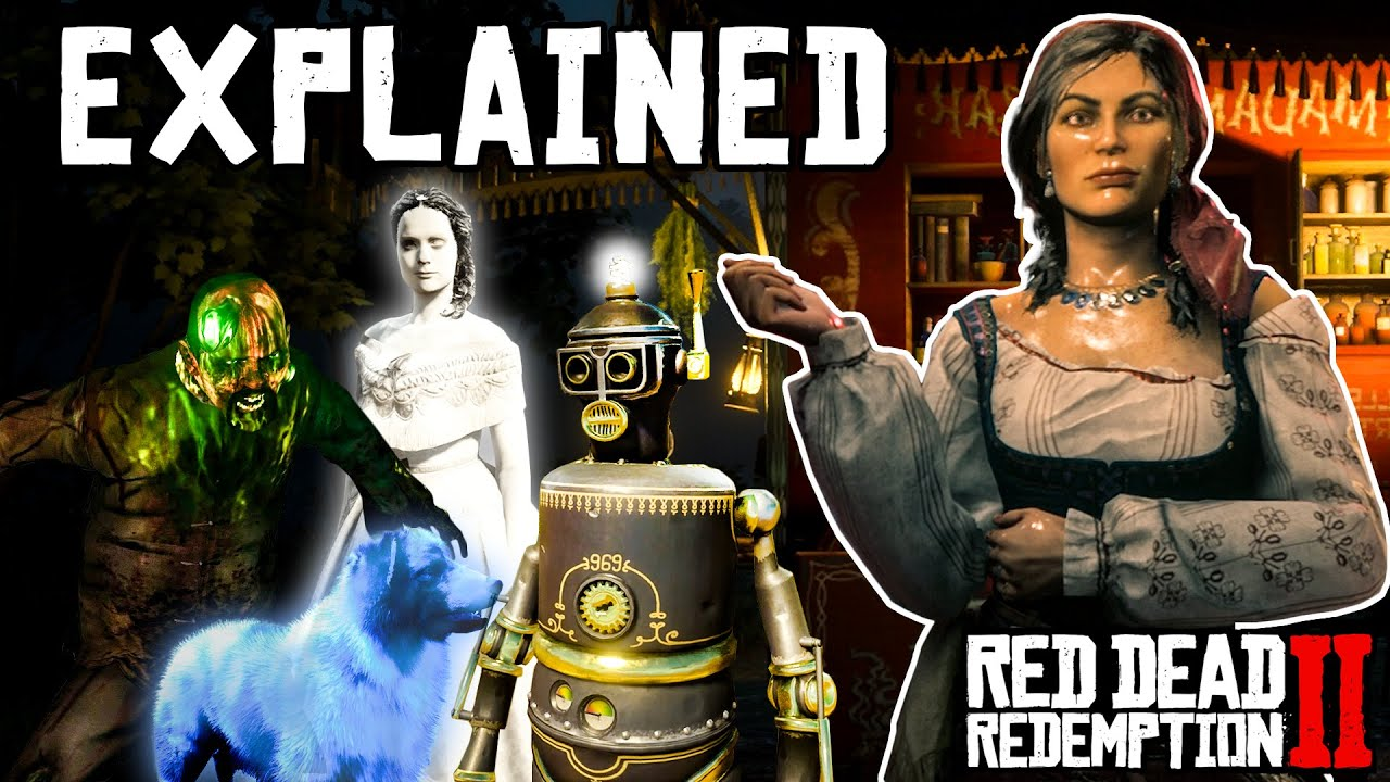 Madam Nazar's Secret Stories Explained (Red Dead Redemption 2)