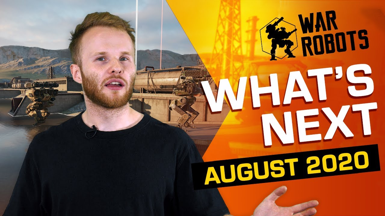 Pilots, Gameroom's Future, Remastered HD, Drones | WHAT'S NEXT IN WAR ROBOTS (August 2020)