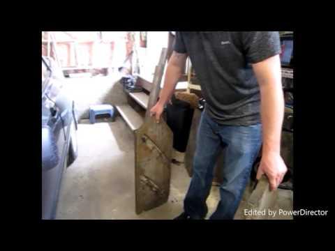 DIY  fire wood RACK