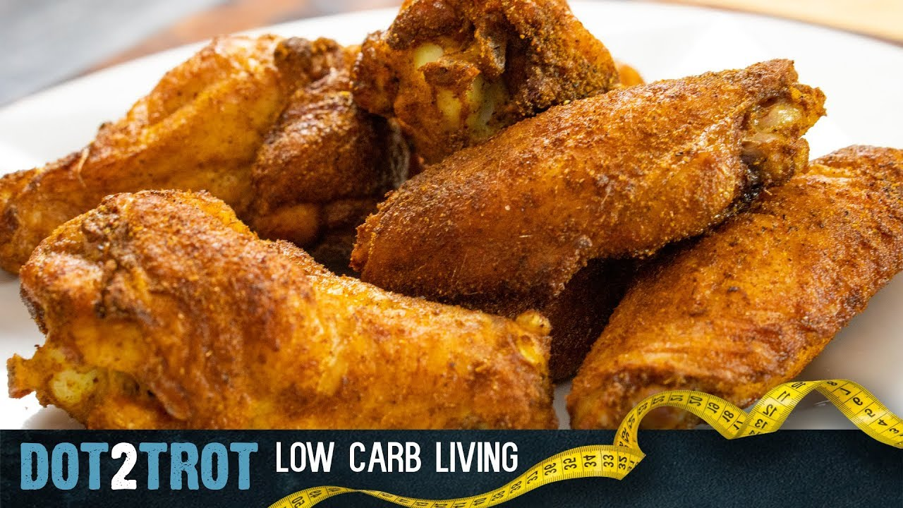 Crispy Curry Chicken Wings Keto Carnivore Youtube