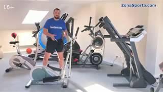 видео Эллиптический тренажер EVO FITNESS Stella