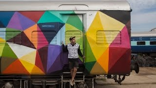 "WRUNG X OKUDA ""INDIA 2015"" (JUST DO ART)"