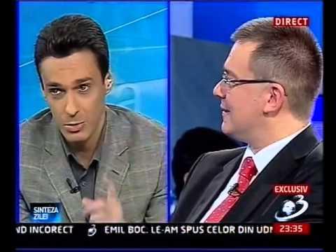 Mircea Badea dialog cu MRU
