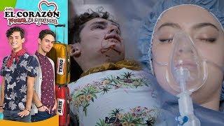 El corazón nunca se equivoca - C-18: ¡Carlota y Aris entre la vida y la muerte! | Televisa