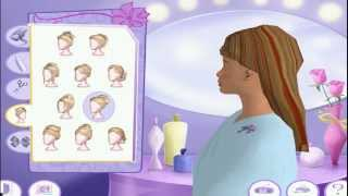 Барби в салоне красоты Прохождение игры Барби/Barbie Все уровни подряд