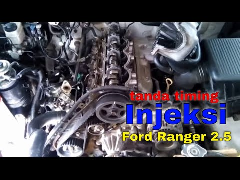 HOW TO REPAIR FORD RANGER WL ENGINE TIMING MARK AND TIMING GEAR