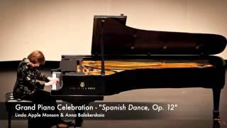Spanish Dance Op 12 by Moritz Moszkowski - Grand Piano Celebration