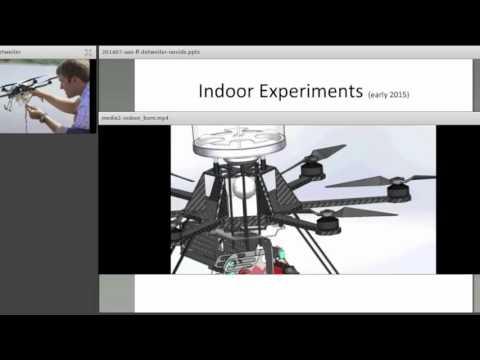 SFE Webinar: Development of a Micro-UAV for Prescribed Fire Ignition