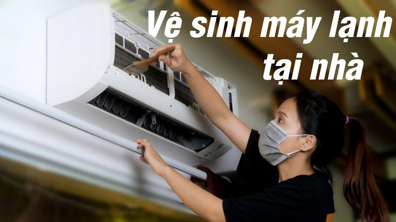 Chia sẻ cách vệ sinh máy lạnh tại gia