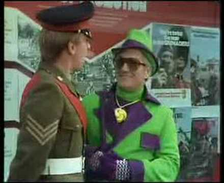 Dick Emery - Clarence Army Careers Sketch