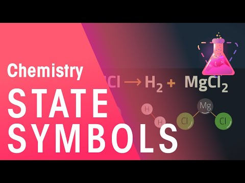 State Symbols In Chemical Equations Chemistry For All Fuseschool