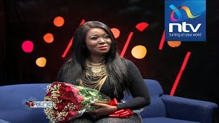 Jegede proposes to Vera Sidika LIVE on TV #theTrend