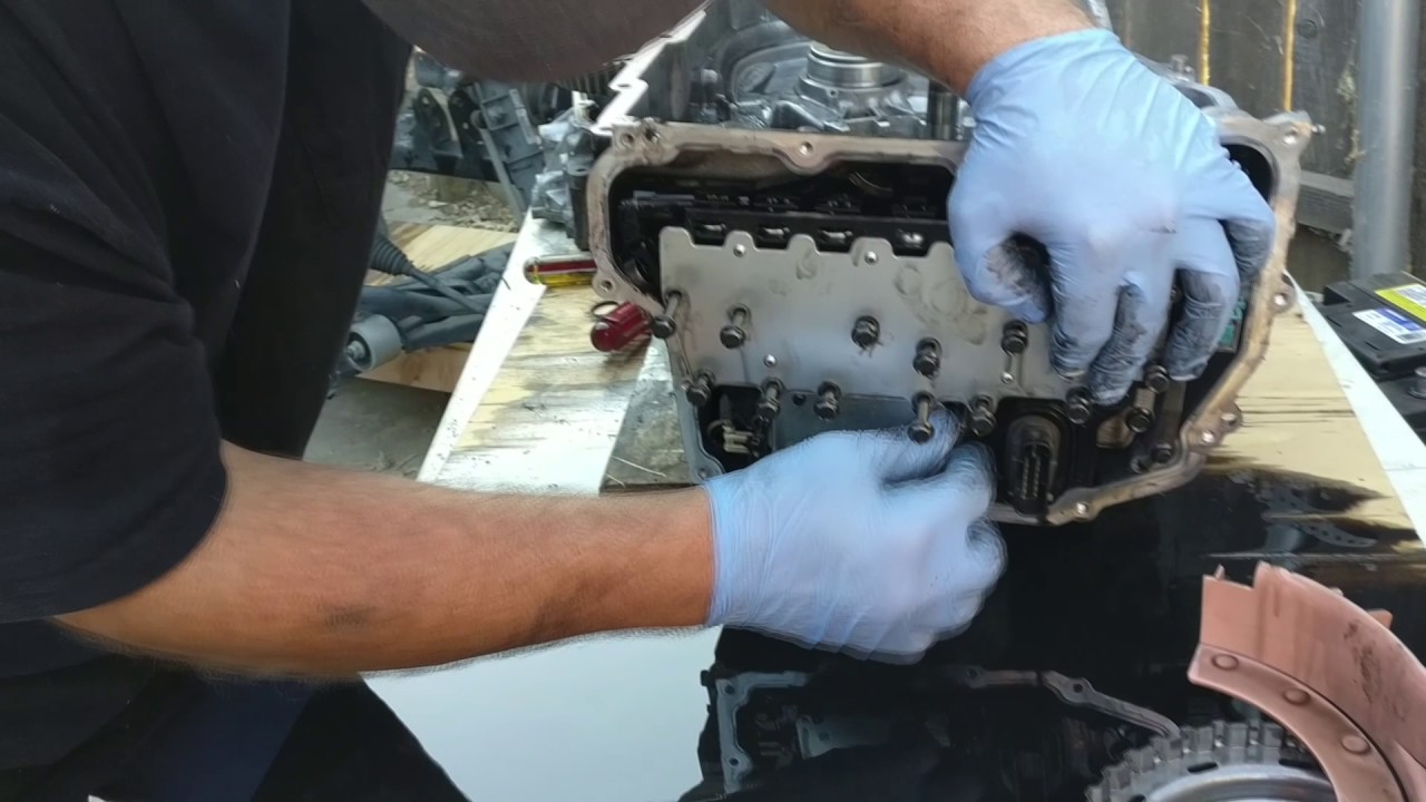 hight resolution of teardown 6t45 transmission chevy equinox part 1