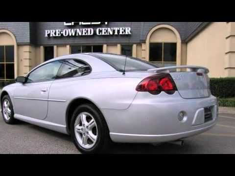 2005 dodge stratus 2dr sxt coupe in plano tx 75075 youtube. Black Bedroom Furniture Sets. Home Design Ideas