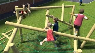 Key Stage 2 3d Playground Design - 7 - 11 Years