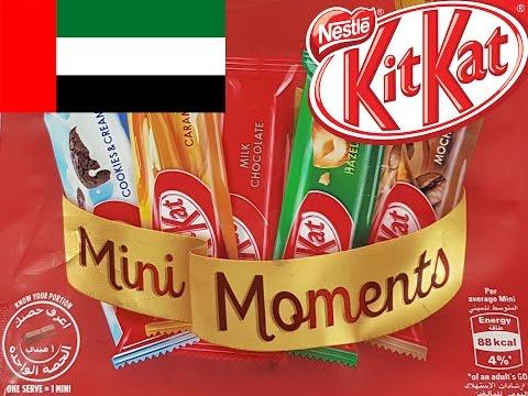 KIT KAT Mini Moments from DUBAI Edition - Taste Test