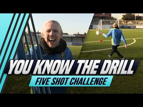 Five-Shot Challenge | Sutton United | You Know The Drill