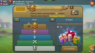 Collect Gf Master Prizes & Familiar Reviews 😁🙏 Lord Mobile ..