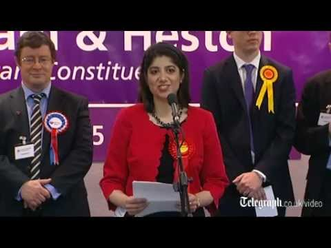 Labour win Feltham and Heston by-election with Seema Malhotra MP