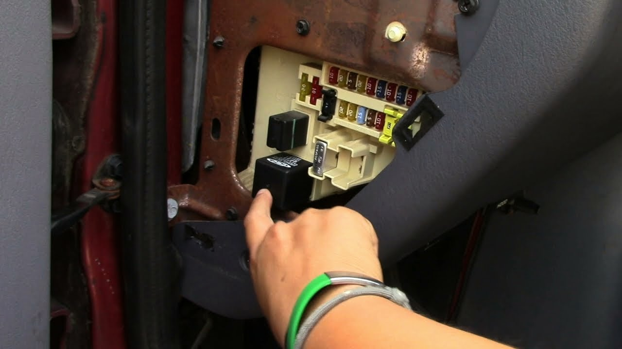 how to fix nonworking turn signals and hazards | vanlife 20170913  YouTube
