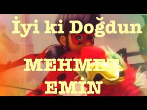 İyi ki Doğdun MEHMET EMİN :) Komik Doğum günü Mesajı 1.VERSİYON ,DOĞUMGÜNÜ VİDEOSU Made in Turkey :)