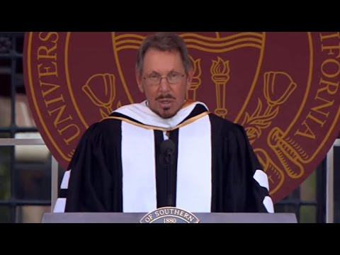 Larry Ellison's commencement address at the University of Southern California