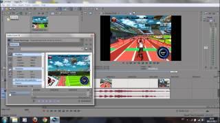 Tirar bordas pretas - Sony Vegas Pro 11