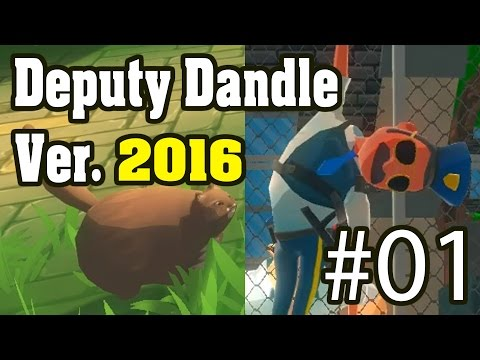 Deputy Dangle 2016 ลุงหนวดเลื้อยทะลุโลก full walkthrough : EP01 [no commentary]