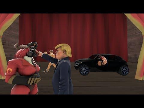 Team Fortress 2 Deathrun Map Dr Trump Tower