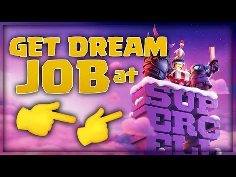 How To Get Job In Clash Of Clans Supercell (HINDI) | Coc Clashers