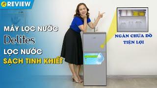 Máy lọc nước R.O Delites 5 lõi: nước sạch đúng chuẩn, có ngăn chứa đồ (DES0520RO) • Điện máy XANH